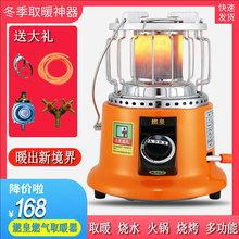 燃皇燃bo天然气液化co取暖炉烤火器取暖器家用烤火炉取暖神器