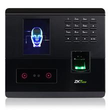 ZKTbrco/中控ndf200的脸识别和指纹考勤的双结合的脸指纹一体机