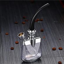 清洗水br璃可水烟烟nd全套烟烟嘴金属循环烟具女士过滤