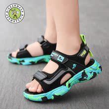 大黄蜂br0园童鞋男nd020夏宝宝凉鞋中大童学生沙滩鞋防滑软底