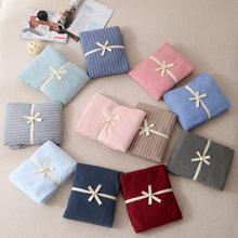 无印天br棉床笠单件lz品纯色针织棉床单1.8m米床垫保护套床罩