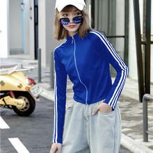 秋冬短br套女202an潮ins春季女装宽松韩款棒球服短式运动上衣