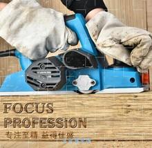 威佳盛br刨家用木工jo功能电创压刨机电推刨木机电动手提刨子