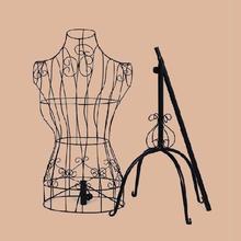成的坚br挂衣架旗袍ns悬挂模特架子展示架旗袍高温烤漆北欧