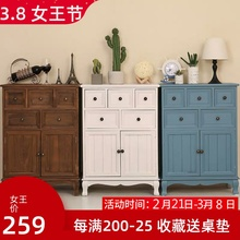 斗柜实bu卧室特价五ox厅柜子简约现代抽屉式整装收纳柜