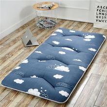 床垫学bu宿舍单的0hi单的床酒店抗菌加厚加厚棉双的床垫被慢回弹