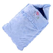 秋冬季bu厚防踢被婴ll袋纯棉宝宝新生儿抱被睡袋两用