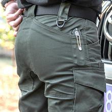 第7区bu松直筒战术fa裤 秋冬季户外作训野营休闲多口袋
