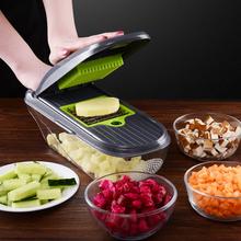 厨房切bu切菜神器多ld擦丝土豆丝切丝器家用土豆切片机刨丝器