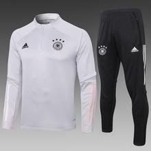 正品正款20-21德国队球衣bu11练服足ie袖套装