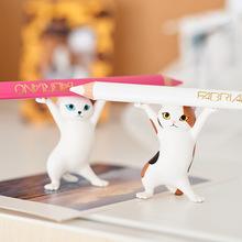日本Qualia妖娆猫笔架创意bu12揍沙雕se男女朋友中秋节礼品