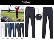 新式夏bw薄式户外运la高尔夫服装男裤透气速干裤吸湿排汗长裤