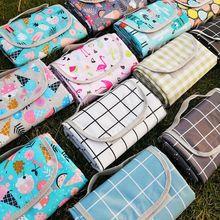 野餐垫bx潮垫insni野餐布户外便携防水秋游草坪野炊郊游地垫