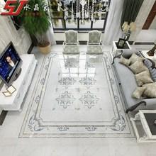 地砖拼花客厅抛晶砖瓷砖拼图过bx11玄关白px欧式地板砖拼花