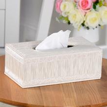 简约皮bx纸巾盒 欧zx客厅茶几 创意汽车用抽纸盒北欧