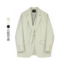 VEGby CHANlk装韩款(小)众设计女士(小)西服西装外套女2021春装新式