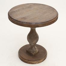 实木餐桌美款bz款复古做旧xw厅家具桌欧款方桌圆桌仿古