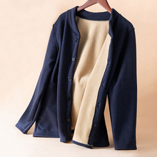 中老年的棉衣男加bz5加厚老的xw爸爸装冬季保暖棉袄外套上衣