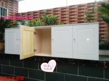 包邮定c3实木松木衣3o储物柜阳台厨房挂墙柜卫生间挂墙式