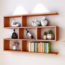 墙上置ca架壁挂书架er厅墙面装饰现代简约墙壁柜储物卧室