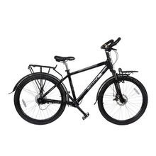 无链传ca轴无链条单em动自行车超轻一体铝合金变速高速山地车