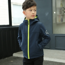 202ca春装新式男ef青少年休闲夹克中大童春秋上衣宝宝拉链衫