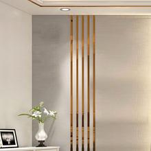 亚克力镜面墙ca3自粘装饰si体腰线电视背景墙天花板吊顶边框条