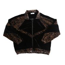 SOUcaHPAW一en店新品青年男士豹纹蝙蝠袖拼布夹克外套