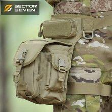 第7区ca锹甲战术男bi能户外特种装备绝地求生腰腿挂包鞍包