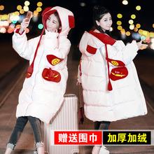 冬季外ca女韩款棉衣es加厚羽绒棉服学院风韩国棉袄学生面包服