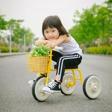 脚踏车ca-3-5岁da推童车轻便自行车宝宝脚蹬(小)单车