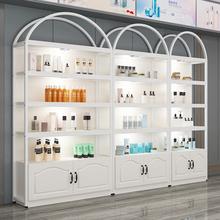 化妆品ca示柜美容院ne货架展示架置物架自由组合母婴产品展柜
