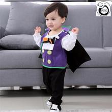 万圣节ca儿服装连体lo装扮cosplay吸血鬼演出服可爱风幼儿园