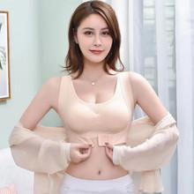 热卖的ca痕冰丝矫正ne胸二合一聚拢交叉美背前扣少女裹胸内衣