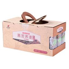 黑苦荞ca沙琪玛零食vi糖软的杂粮萨其马整箱