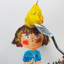 [carvi]土豆鱼|油画棒细节刻画辅
