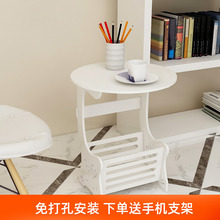 北欧简ca茶几客厅迷hn桌简易茶桌收纳家用(小)户型卧室床头桌子