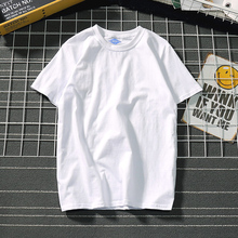 日系文cd潮牌男装tan衫情侣纯色纯棉打底衫夏季学生t恤