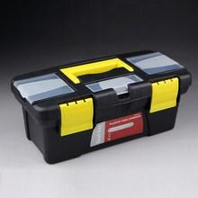 工具收cd箱手提式塑an工具收纳盒家用维修多功能收纳箱工具盒