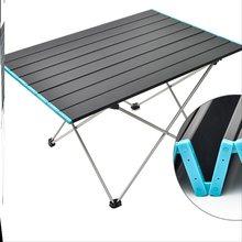 户外折cd桌椅便携式mm便野餐桌自驾游铝合金野外烧烤野营桌。