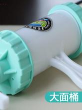 8模 ce不坏大面桶en面机家用手动拧(小)型��河捞机莜面窝窝器