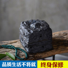 陶瓷电子定时调温ce5熏炉无烟te檀香精油木块插电熏香炉粗陶