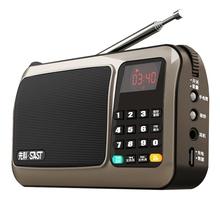 广播调ce全波段半导la的随身四六级德声家用听戏收音机