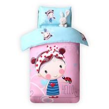 幼儿园被子三件套纯棉宝宝棉cg10宝宝被nh套婴儿床品含芯冬