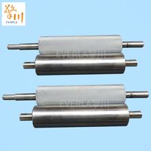 无动力ch锈钢滚筒镀am线托辊输送机传动滚轴辊筒加工定制