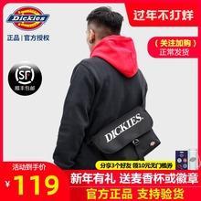 Dickies帝客新式男女情侣邮差包韩ch16时尚纯mp斜挎包B037