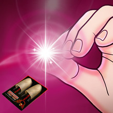 魔术8ch00 光能li星 拇指灯 手指灯 魔术玩具