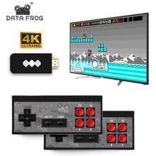 高清游戏机ch4K电视家ra年怀旧 双的无线手柄 内置经典FC可下载