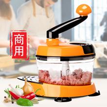 美之扣ch菜饺子馅搅le搅蒜泥绞肉机多功能家用手动切菜器神器