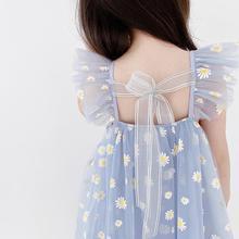 女童夏款连衣裙202ch7新款韩款rr主裙童装儿童夏季洋气网纱裙